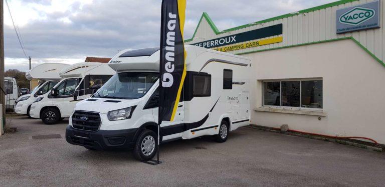 Achat Vente Camping Car tessoro440UP - CampingCars71 - Saône-et-Loire Bourgogne Franche Comté Voyage Route de France (2)